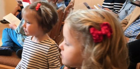 Chapel service PreK Oct 2017